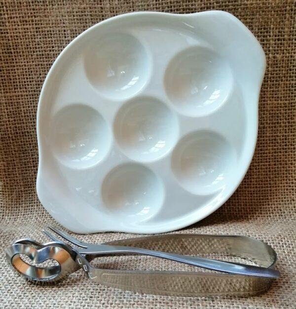 Servírovací set - keramika - Snailex